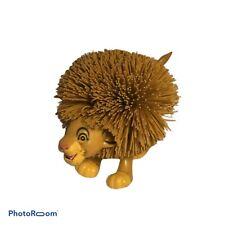 💛 Lion King Simba Koosh Ball Sensory Toy 1994 Vintage I6