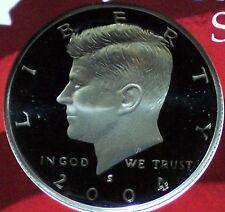 2004-S Silver Proof Kennedy Half Dollar - Deep Cameo!
