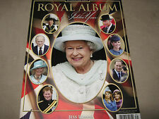 NEW! ROYAL ALBUM Jubilee Year 2012 Jess Lomas Glossy OVERSIZED British Royalty