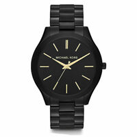 Michael Kors MK3221 Slim Runway Black Dial Black Unisex Wrist Watch