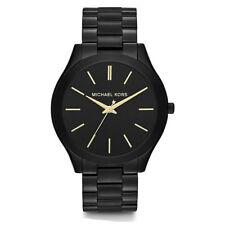 Michael Kors MK3221 Slim Runway Black Dial Black Unisex Wrist Watch