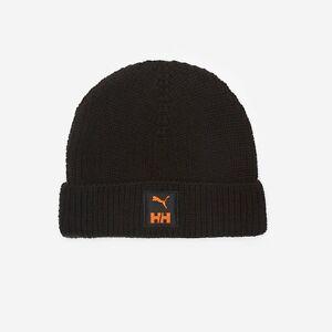 Puma x Helly Hansen Beanie Hat One Size Black RRP £23 Brand New