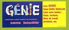 """PROSPECTUS """" LESSIVE GENIE """" BON DE REDUCTION APRES 1960"""