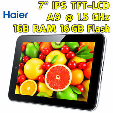 "PC Tablet 7"" NUOVO Dual Core 1GB 16GB Dual Camera WIFI Bluetooth Android 4.1+"