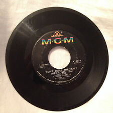 MGM Connie Francis 45rpm - Don't Break the Heart That Loves You/Drop It Joe