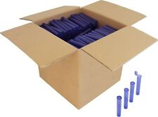(600) Pre-Roll Tubes - Purple 109mm King Size Herbs Storage Meds Spices Prt109Tp