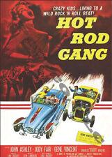 Hot Rod Gang, 1958 staring John Ashley and Jody Fair