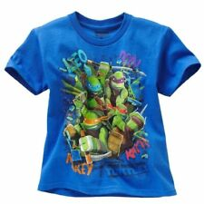 fb279a561 Nickelodeon Teenage Mutant Ninja Turtles Boy Short Sleeve T Shirt Size 7