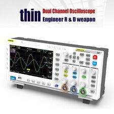 7Zoll TFT LCD 2in1 Kanal Signalgenerator Oszilloskop 100 MHz* 2 1 GSa/S F1H6