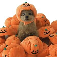 Pet Halloween Costume Cat Dog Funny Adjustable Pumpkin Hat Party Props Accessory