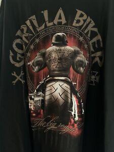 Gorilla Biker T-Shirt; Gr. 5XL