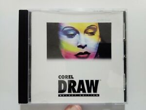 CorelDRAW 7 Select Edition, vintage software, for Windows 95, flawless CD