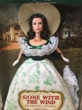 NRFB BARBIE ~ GONE WITH THE WIND BARBECUE BBQ SCARLETT O'HARA TIMELESS TREASURES