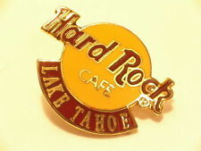 LAKE TAHOE Hard Rock CAFE PIN B15-423 COLLECTORS PIN  Small Yellow Logo