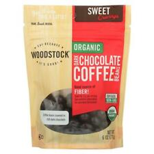 Woodstock Farms-Organic Dark Chocolate Coffee Beans, 1 ( 6 OZ )
