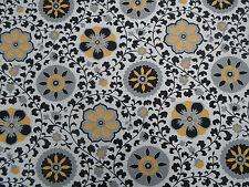 """Sanderson De Cortina De Tela « Zahra """" 3,25 m Black/yellow mezcla de algodón opciones 10"""