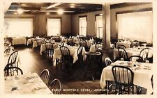 Jackson New Hampshire~Eagle Mountain House~Dining Room Interior~1926 RPPC