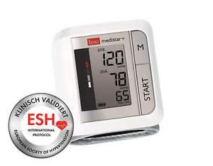 Handgelenk-Blutdruckmessgerät boso Medistar Plus mit Handgelenksmanchette