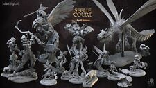 Seelie Court! Miniature Warhammer D&D AoS Call of Cthulhu!  [3DArtDigital]
