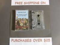 "THE BEATLES SGT. PEPPER'S LONELY HEARTS CLUB BAND CASSETTE ""A DAY IN THE LIFE"" 2"