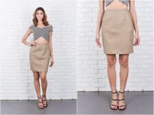 Unbranded Leather Regular Size Mini Skirts for Women