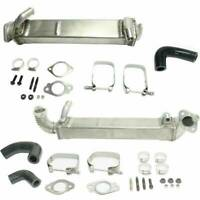 Rudy's Heavy Duty Vertical & Horizontal EGR Cooler For 2008-2010 Ford Diesel 6.4
