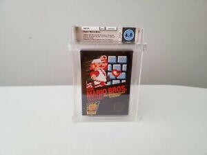 Super Mario Bros 1985 Wata Not VGA not Sealed Hangtab Nes ,Nintendo