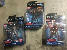 Playmation Marvel Comics Avengers Iron Man Ultron Black Widow