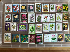 Thematic Stamps Flowers
