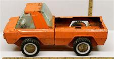 Vintage Buddy L Zoo Ranger Pickup Truck Pressed Steel #1-3687 2.500 Oval Tire