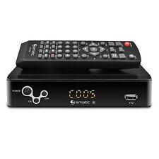 Ematic AT103B Digital Converter Box with Recording & Media Playback - Black