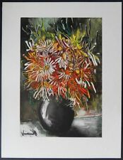 Maurice de Vlaminck (d'après) - Fleurs de Chine - Lithographie signée