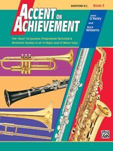 Accent on Achievement Book 3 Baritone B.C. - 18065