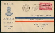 Mayfairstamps HABANA EVENT 1928 COVER LINDBERGH VISIT wwm67395