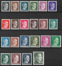 ALLEMAGNE REICH HILTER LOT 22 TIMBRES NEUF ** LUXE TOP AFFAIRE !!!!!!!!!!!!!