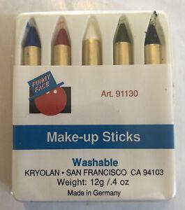 Kryolan Funny Face Make-Up Sticks Washable 12g/.4oz Art. 91130 Made Germany vtg