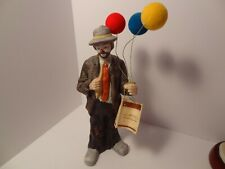 Emmett Kelly Signature Collection Clown with Balloon's Flambro