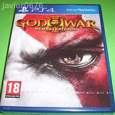 GOD OF WAR III REMASTERIZADO NUEVO Y PRECINTADO PAL ESPAÑA PLAYSTATION 4