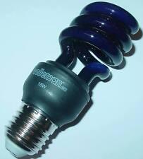 Lampe à économie d'énergie, lumière noire, UV, E27 15 Watt