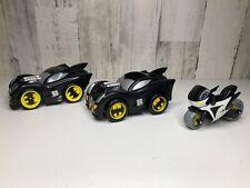 2007' Fisher PRICE Mattel SHAKE 'N GO Batmobile, 2008 & 2009 Imaginext Car&Bike