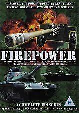 FIREPOWER: 3 COMPLETE EPISODES – DVD, R-ALL, NEW, FREE POST WITHIN AUSTRALIA