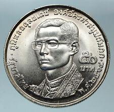 1970 NEPAL King Mahendra Bir Bikram WORLD BUDDHIST Silver Nepalese Medal i84370