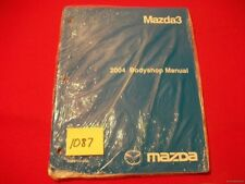 ORIGINAL NEW & SEALED FACTORY 2004 MAZDA3 MAZDA 3  BODYSHOP MANUAL