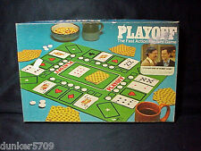 1975 PLAYOFF CARD GAME MILTON BRADLEY CO. USA COMPLETE