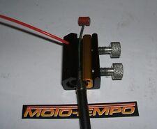 Twin abrazadera largo cable de control Engrasador Lubricador Herramienta Moto Quad Marino Bicicleta