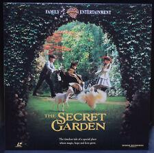 The Secret Garden NTSC LaserDisc Maggie Smith and John Lynch