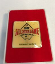 California Angels 1989 All-Star Game CA Fresh Eggs Lapel/Hat Pin
