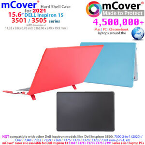 """NEW mCover® Hard Shell Case for 2021 15.6"""" Dell Inspiron 15 3501 3505 laptop"""