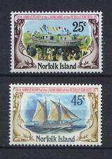 Norfolk Islands 1975 SG#170-1 Revolution Ship MNH Set
