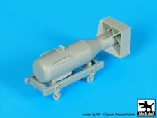 "Black Dog 1/48 ""Little Boy"" Atomic Bomb on Trolley Hiroshima, Japan WWII A48023"
